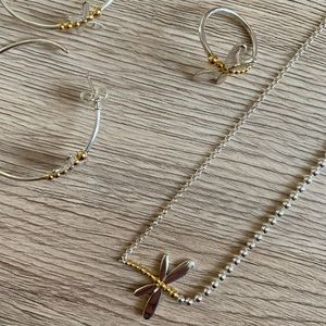 Silver and Gold Vermeil Tous Set
